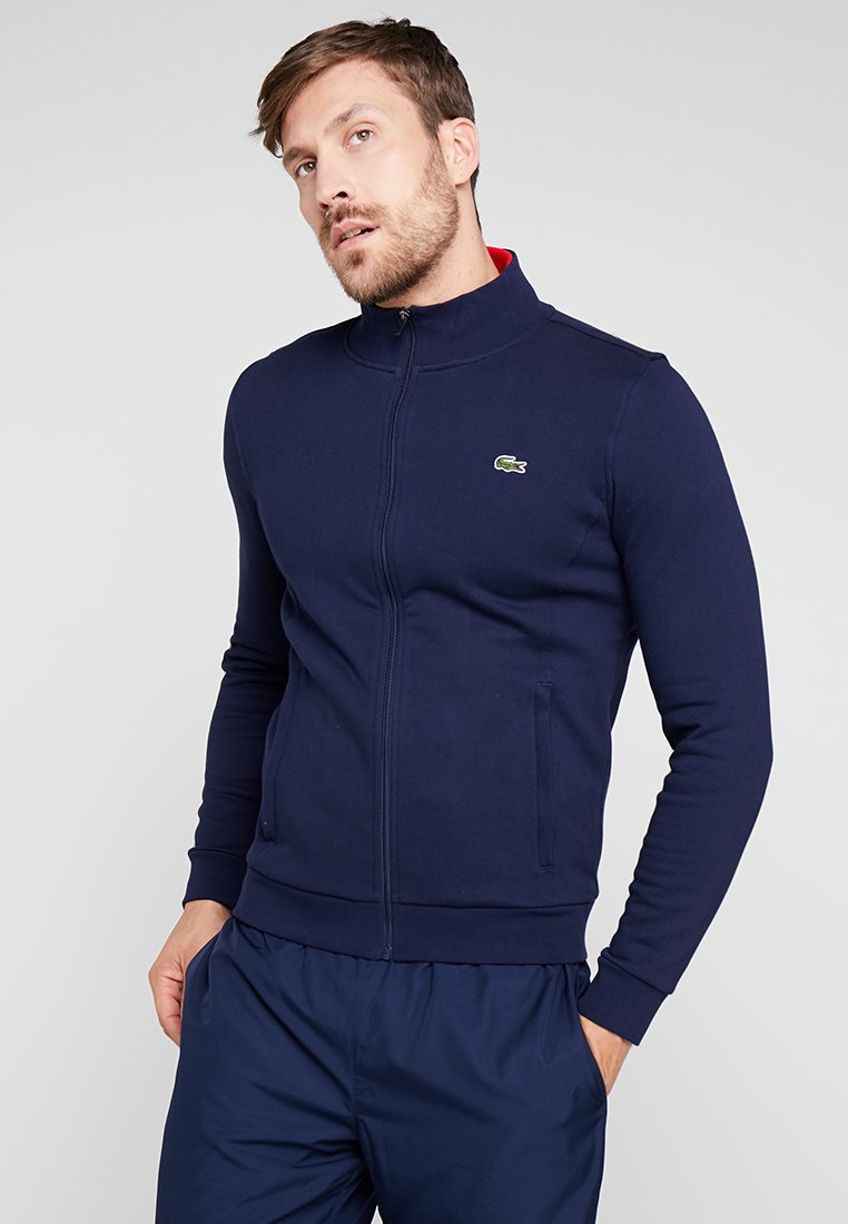 Lacoste Sport - veste en sweat zippée - navy blue