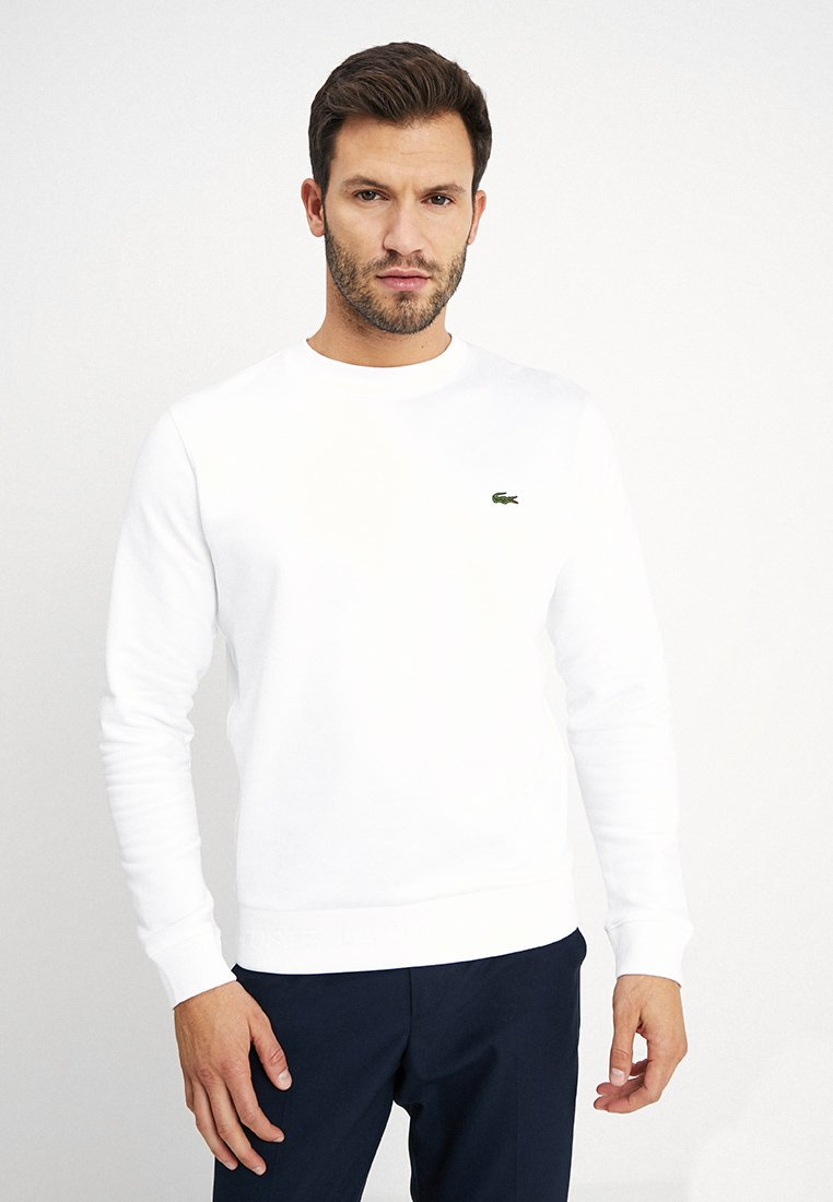 Lacoste - Sweater - white