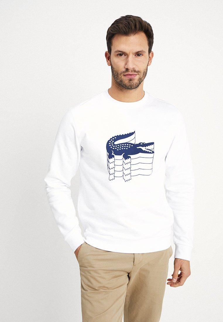 Lacoste - SH6423 - Sweatshirt - blanc