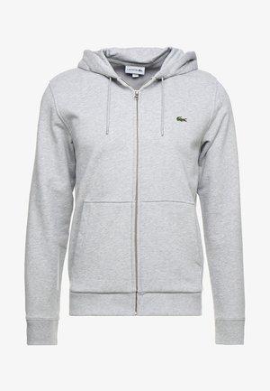 veste en sweat zippée - argent chine