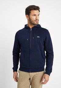 Lacoste - Zip-up hoodie - marine - 0