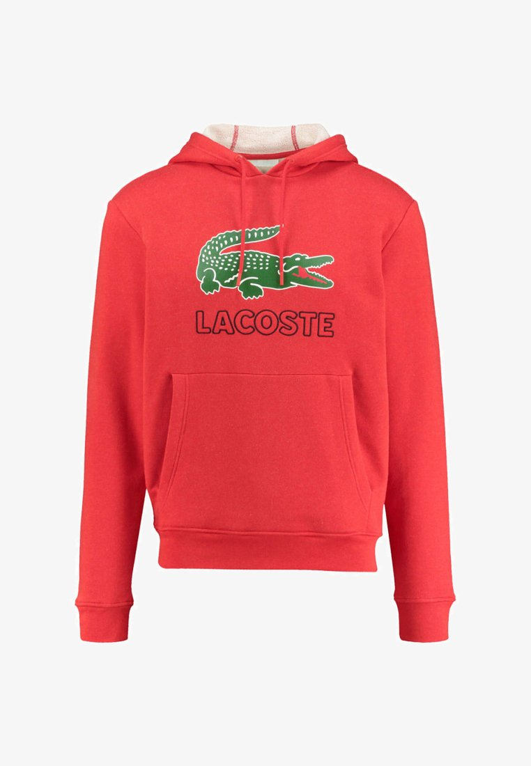 Lacoste - Hoodie - red