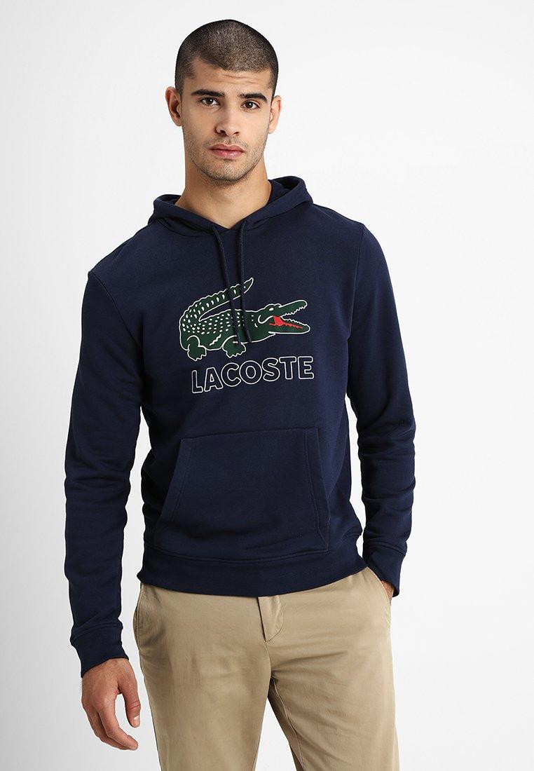 Lacoste - Mikina skapucí - marine