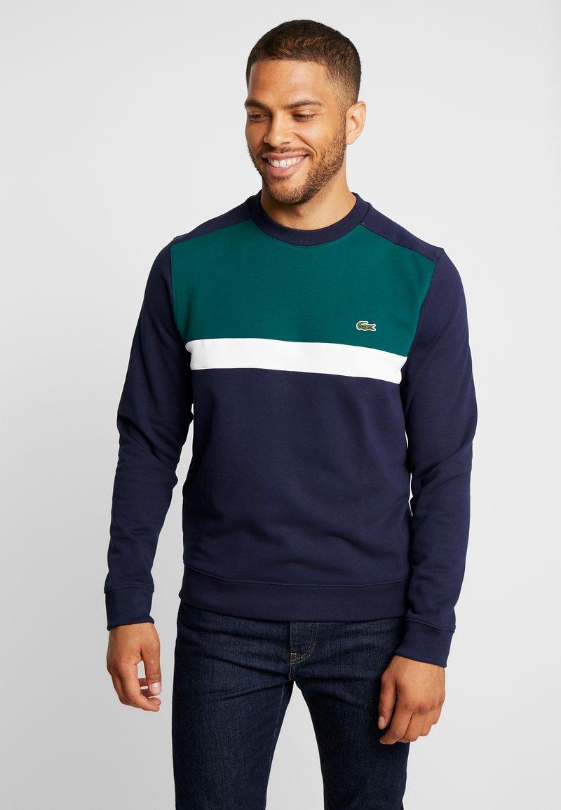 Lacoste - Sweatshirt - navy blue/flour-beeche