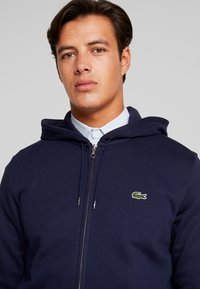 Lacoste - veste en sweat zippée - navy blue - 3