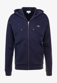 Lacoste - veste en sweat zippée - navy blue - 4