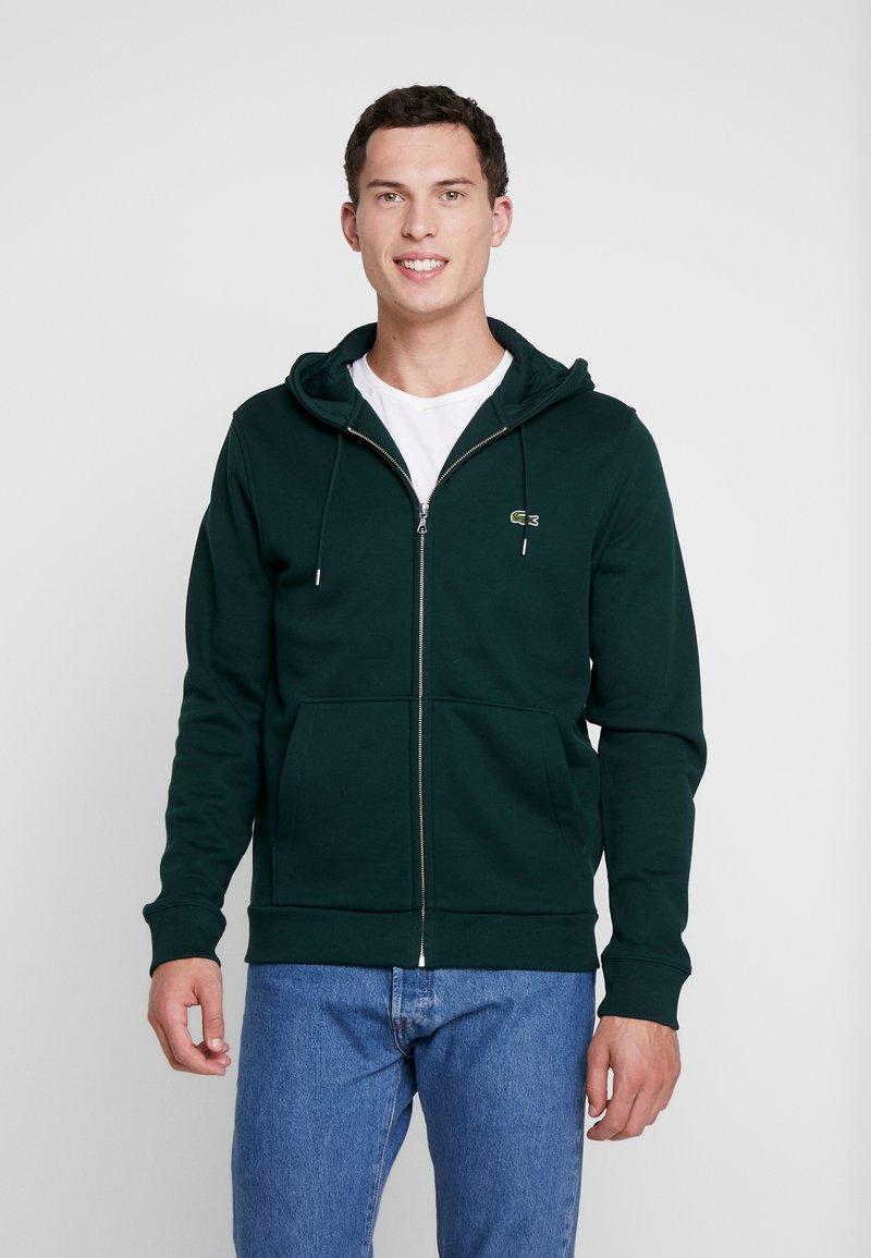 Lacoste - Zip-up hoodie - sinople