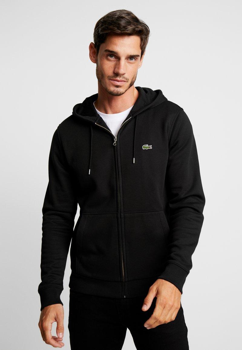 Lacoste - Mikina na zip - black