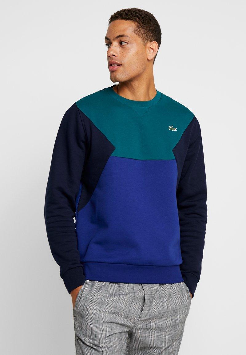 Lacoste - Sweatshirt - lierre/ocean marine
