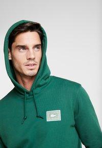 Lacoste - SH5167 - Hoodie - dark green - 4