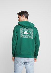 Lacoste - SH5167 - Hoodie - dark green - 2