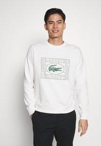 Lacoste - Sweatshirt - farine - 0