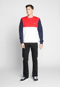 Lacoste - Sweater - farine/rouge/marine - 1