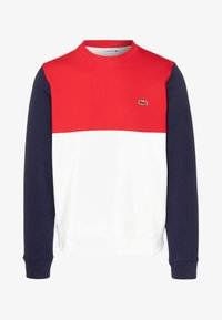 Lacoste - Sweater - farine/rouge/marine - 4