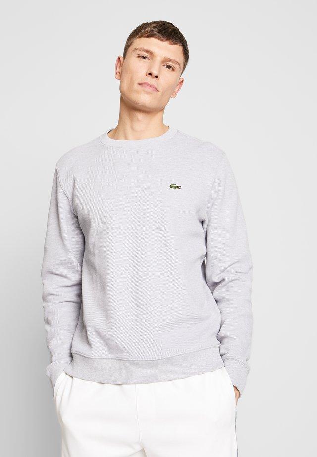 Sweatshirt - silver chine