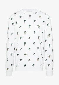 Lacoste - Unisex Lacoste x Jean-Michel Tixier Print Sweatshirt - Bluza - blanc - 4