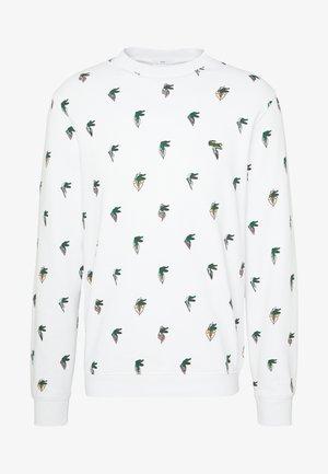 Unisex Lacoste x Jean-Michel Tixier Print Sweatshirt - Mikina - blanc