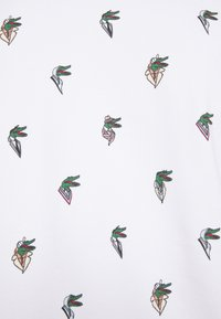 Lacoste - Unisex Lacoste x Jean-Michel Tixier Print Sweatshirt - Bluza - blanc - 5