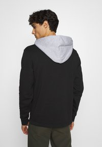 Lacoste - OUTLINE - Hoodie - noir/argent chine - 2