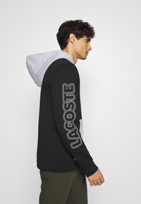 Lacoste - OUTLINE - Hoodie - noir/argent chine - 3