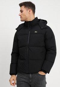 Lacoste - Gewatteerde jas - black - 0
