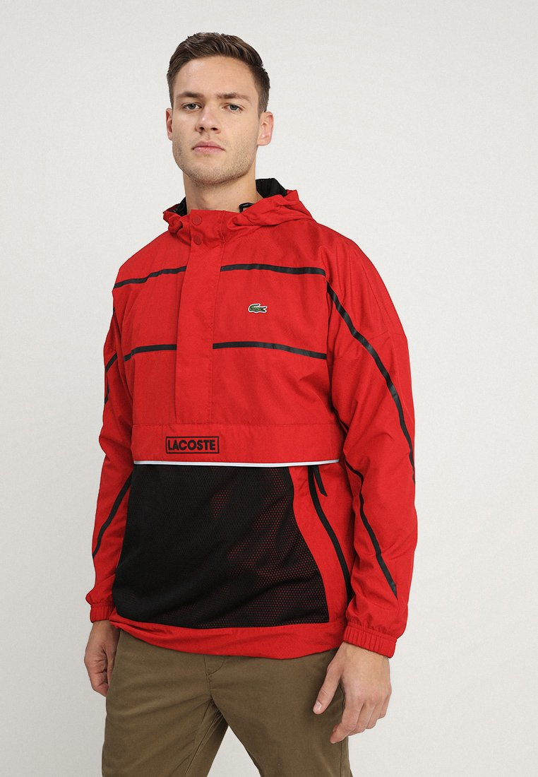 Lacoste - Windbreaker - red