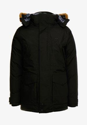 Abrigo de plumas - black/graphite