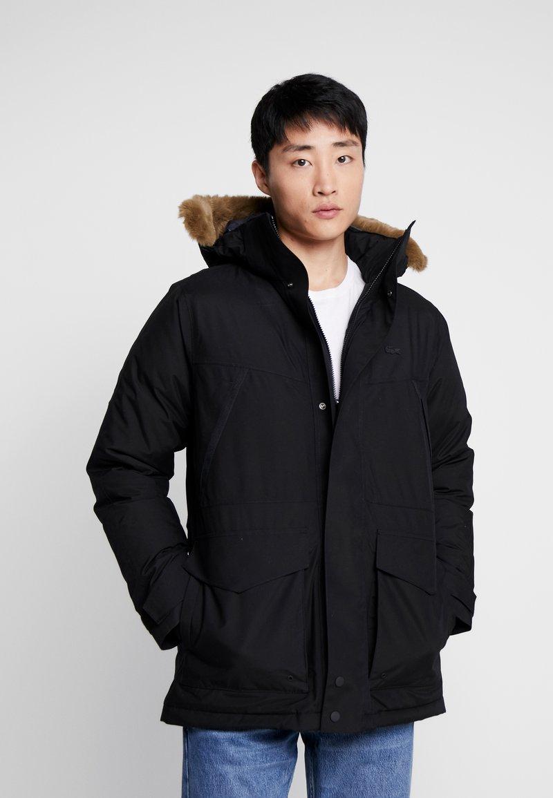 Lacoste - Down coat - black/graphite