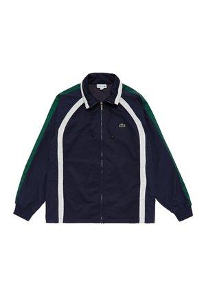Veste légère - bleu marine / blanc / vert