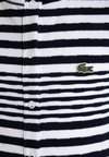 Lacoste - GIRLS DRESS - Vestido ligero - white/navy blue