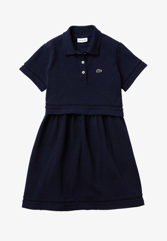 Jersey dress - bleu marine