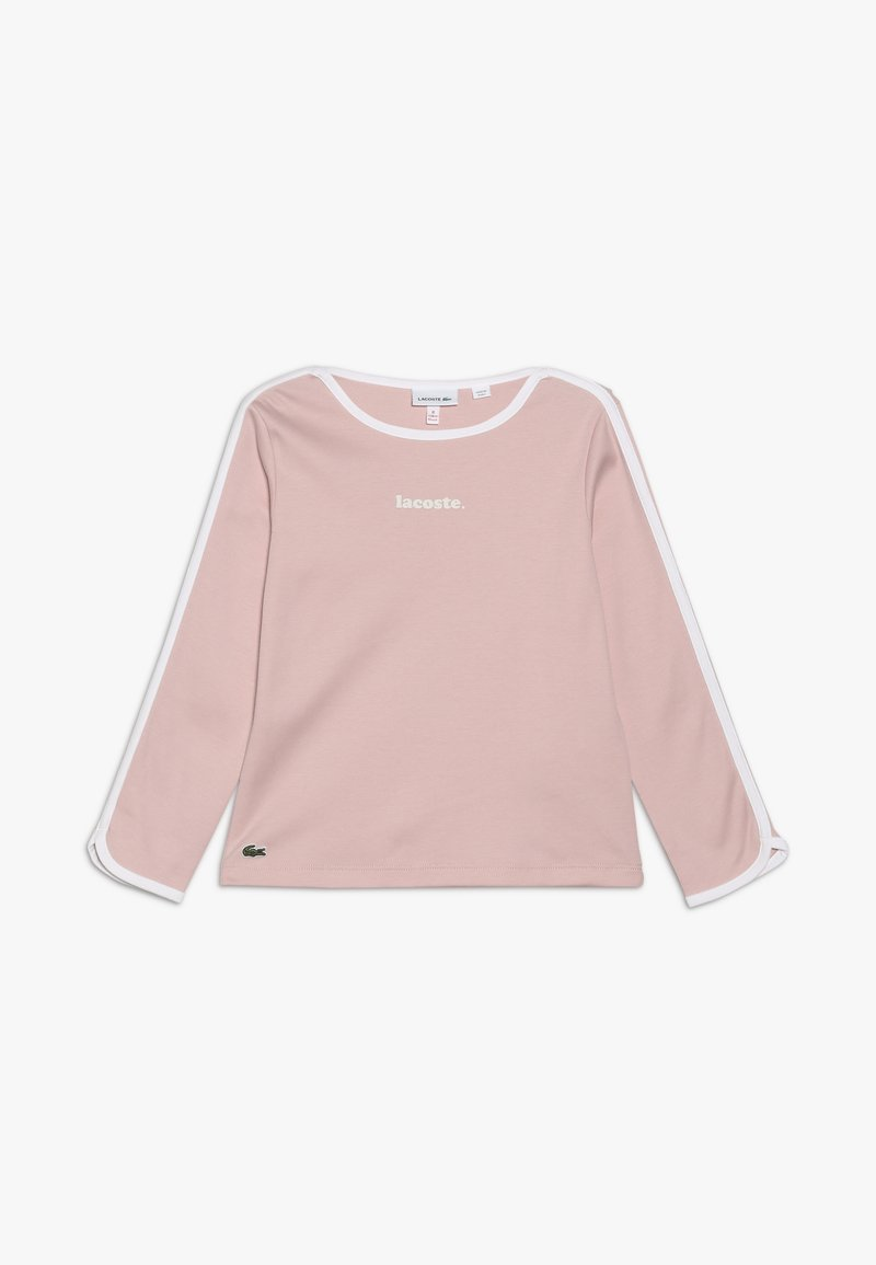 Lacoste - T-SHIRTS & ROLLIS-TJ8206 - Long sleeved top - lychee/white