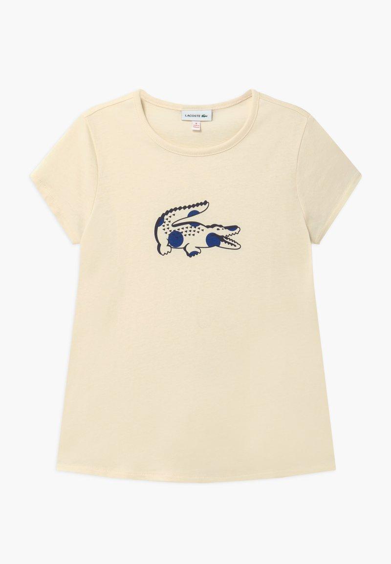 Lacoste - T-SHIRTS & ROLLIS-TJ5040 - Print T-shirt - lapland