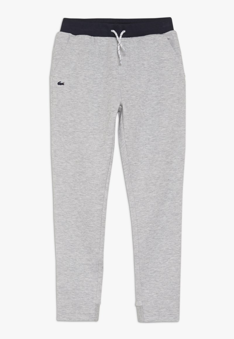 Lacoste - TRACKSUITS TRACK TROUSERS - Pantalones deportivos - argent chine/marine