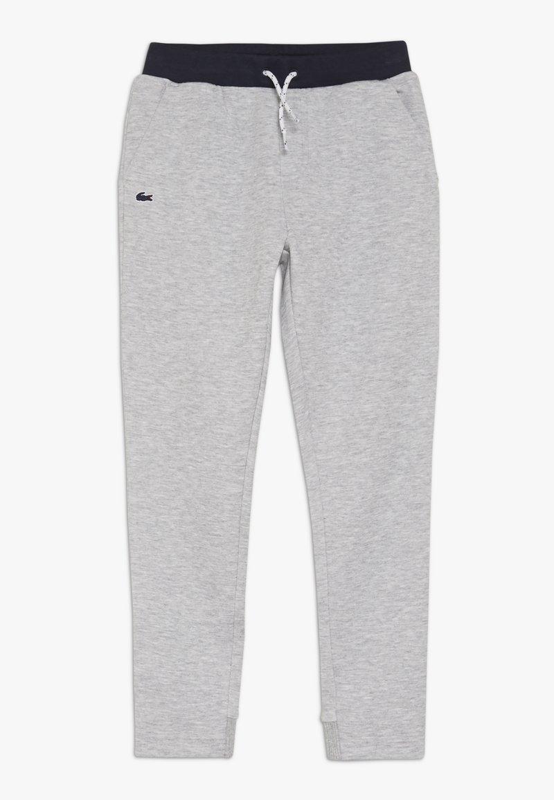 Lacoste - TRACKSUITS TRACK TROUSERS - Pantalon de survêtement - argent chine/marine