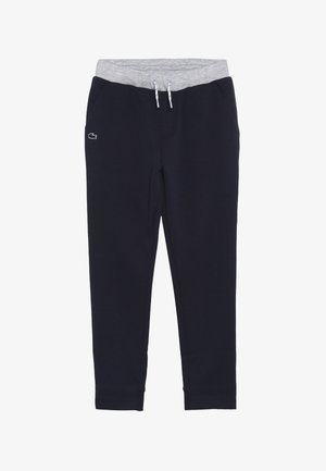 TRACKSUITS TRACK TROUSERS - Träningsbyxor - marine/argent chine