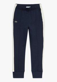 Lacoste - Teplákové kalhoty - navy blue/lapland - 0