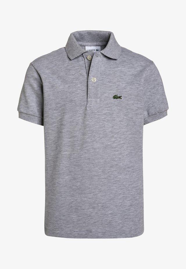 Poloshirts - silver chine