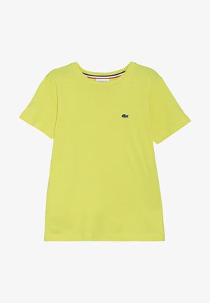 T-shirt basic - midday yellow