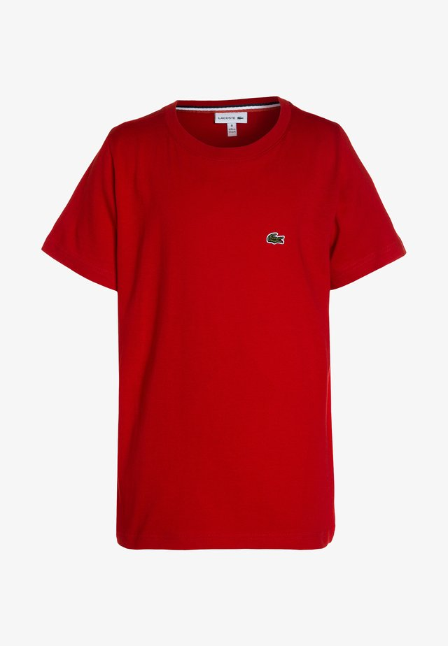 T-shirt basic - rouge