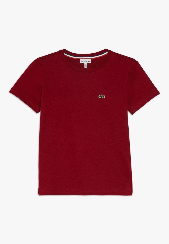 Camiseta básica - bordeaux