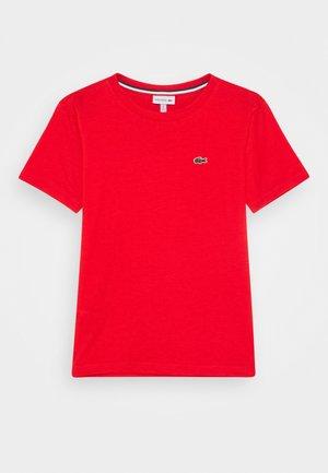 T-shirt basic - groseillier