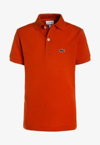 Lacoste - BOY SHORT SLEEVED COLLAR  - Piké - orange - 0