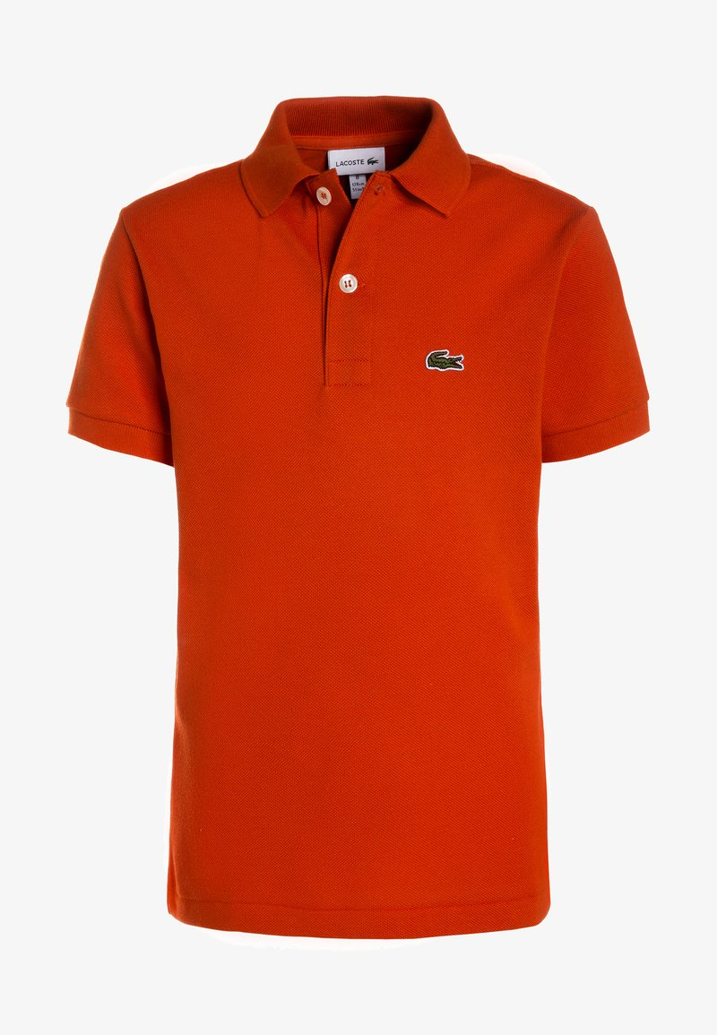 Lacoste - BOY SHORT SLEEVED COLLAR  - Piké - orange
