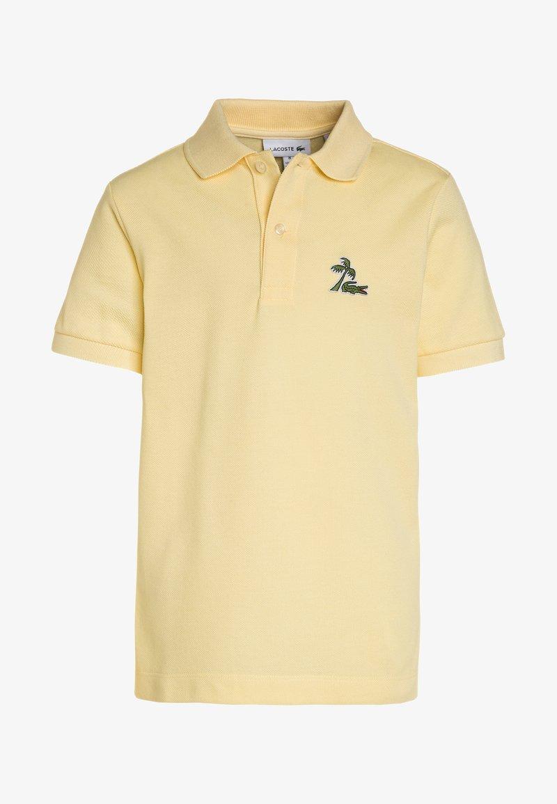 Lacoste - BOY SHORT SLEEVED RIBBED COLLAR  - Polo shirt - napolitan yellow