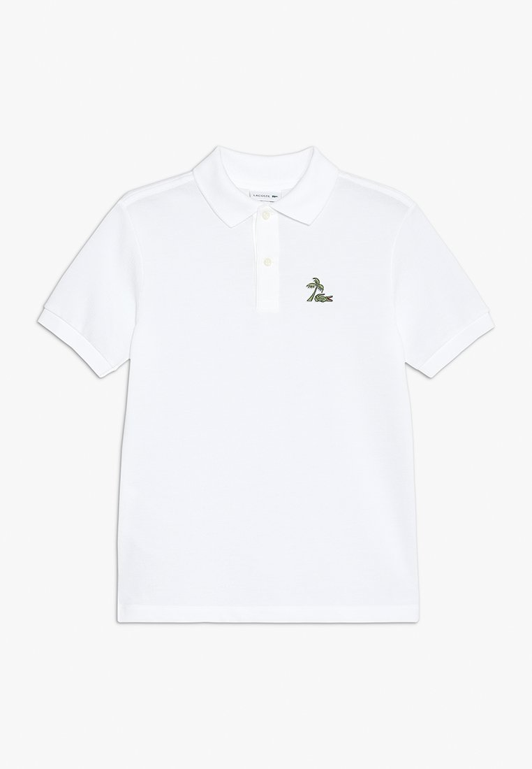 Lacoste - BOY SHORT SLEEVED RIBBED COLLAR - Polo shirt - white