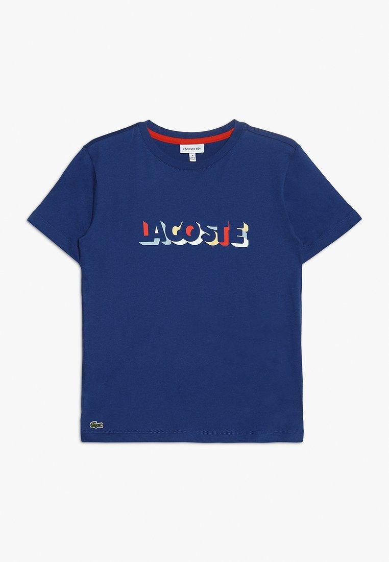 Lacoste - BOY TEE - T-Shirt print - captain