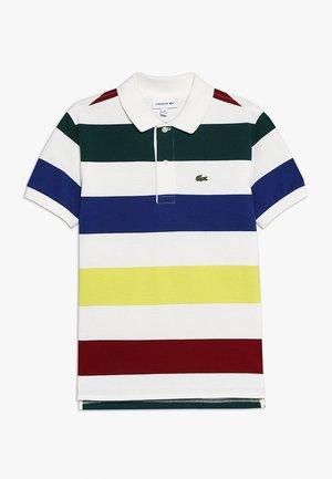 Poloshirt - farine/multicolored