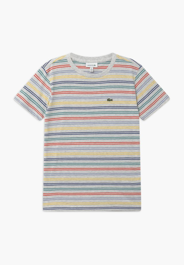T-Shirt print - alpes grey chine/multicoloured