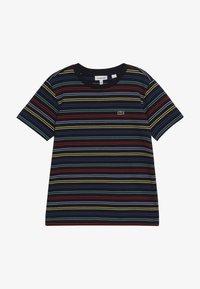 Lacoste - Print T-shirt - navy blue/multico - 3
